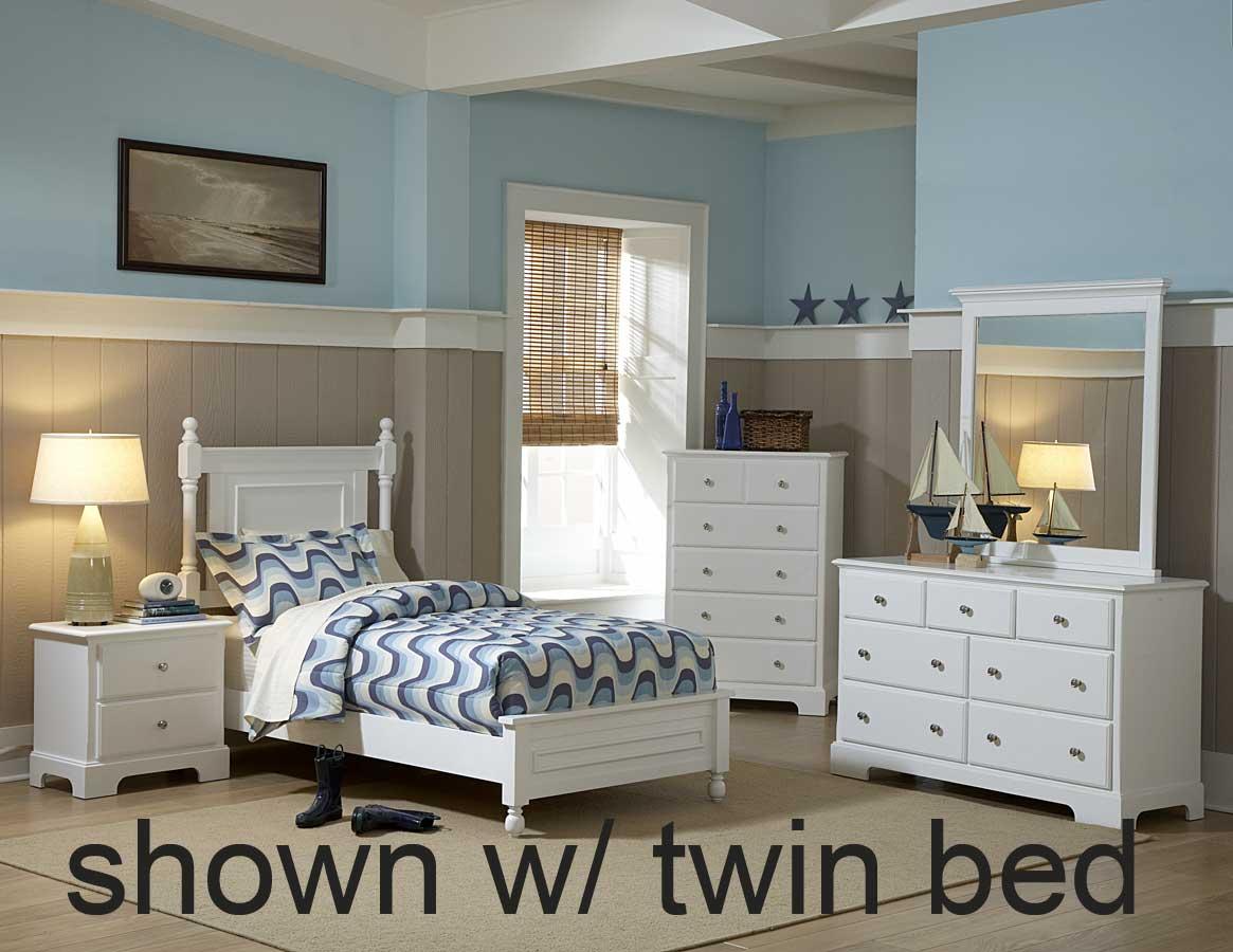 Homelegance Morelle Bedroom Set - White