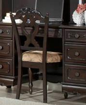 Homelegance Cinderella Chair - Dark Cherry