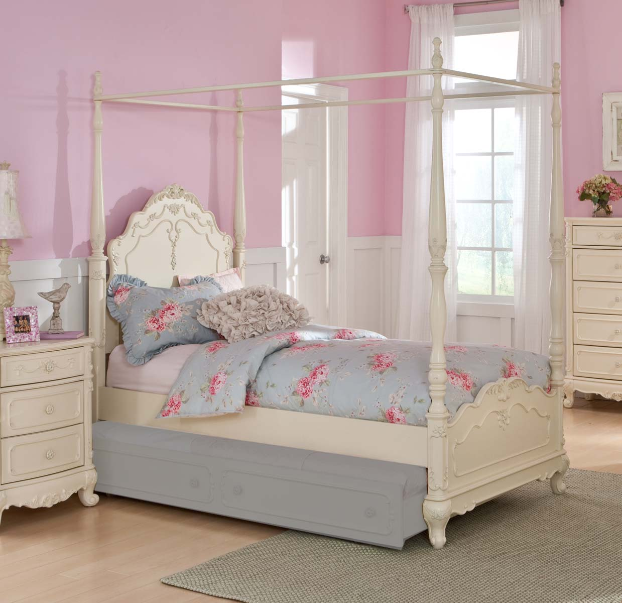 Homelegance Cinderella Bedroom Collection - Ecru B1386 ...