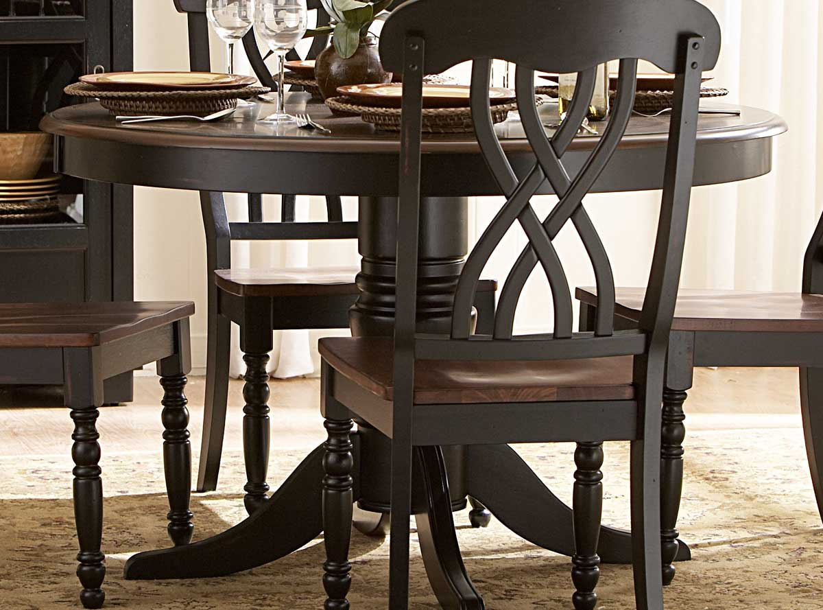 Homelegance Ohana 48in Round Dining Table - Black