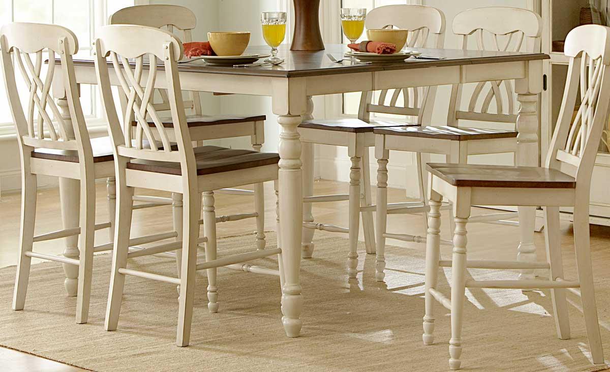Homelegance Ohana Counter Height Table - White