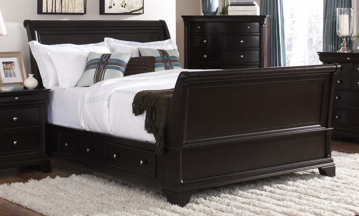 Platform Beds With Storage Platform bed with storage