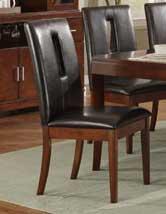 Homelegance Elmhurst S2 Side Chair - Dark Brown