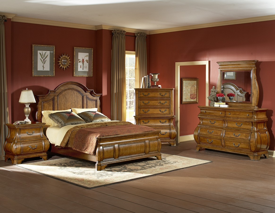 Homelegance 1436 Bedroom Set B1436 110 Bed Set
