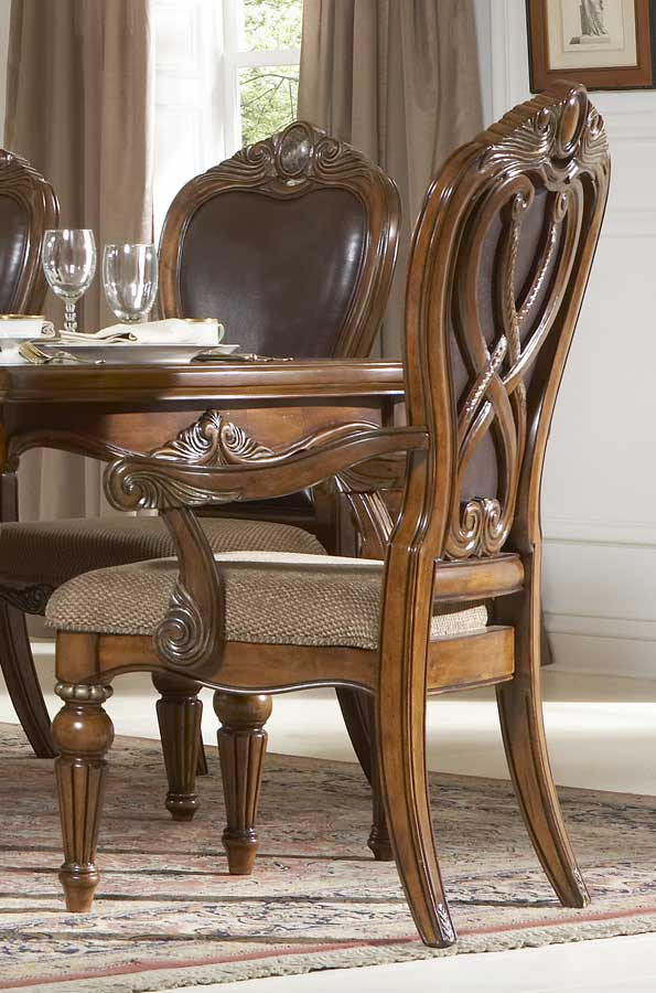 Homelegance Golden Eagle Arm Chair