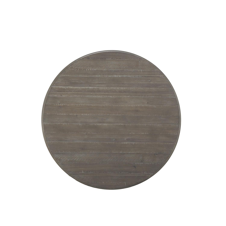 Homelegance Cardano Round DiningTable - Driftwood Light Brown