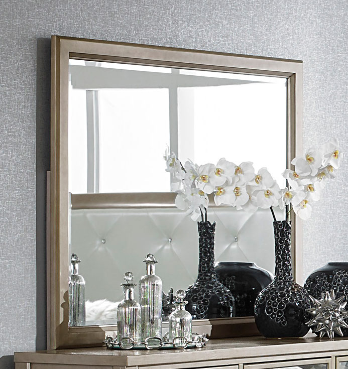 Homelegance Odelia Mirror - Silver