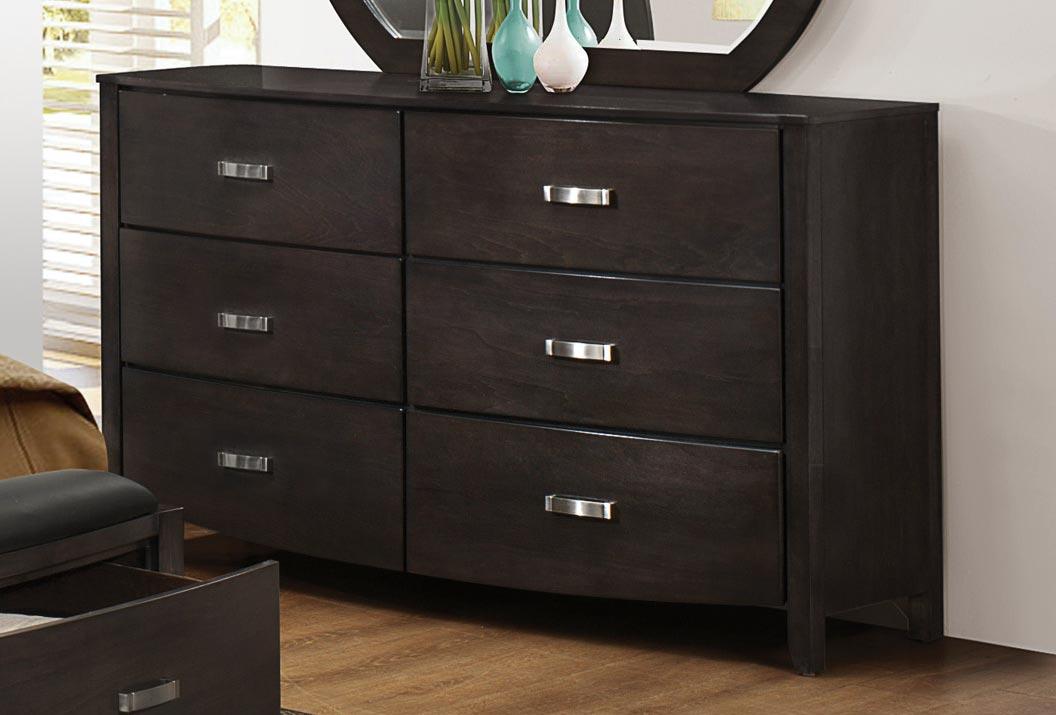 Homelegance Lyric Dresser - Brownish Grey