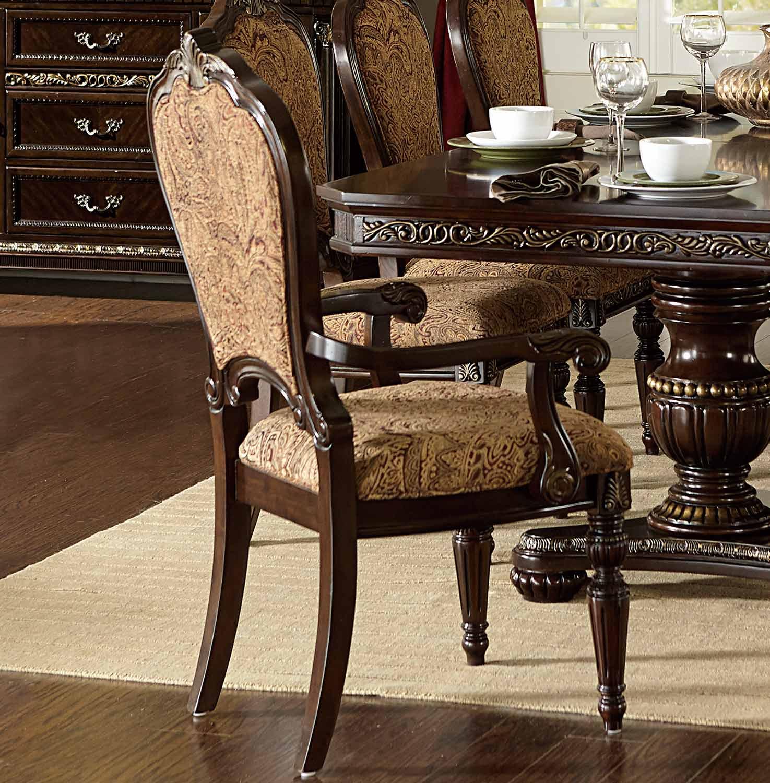 Homelegance Russian Hill Arm Chair - Cherry