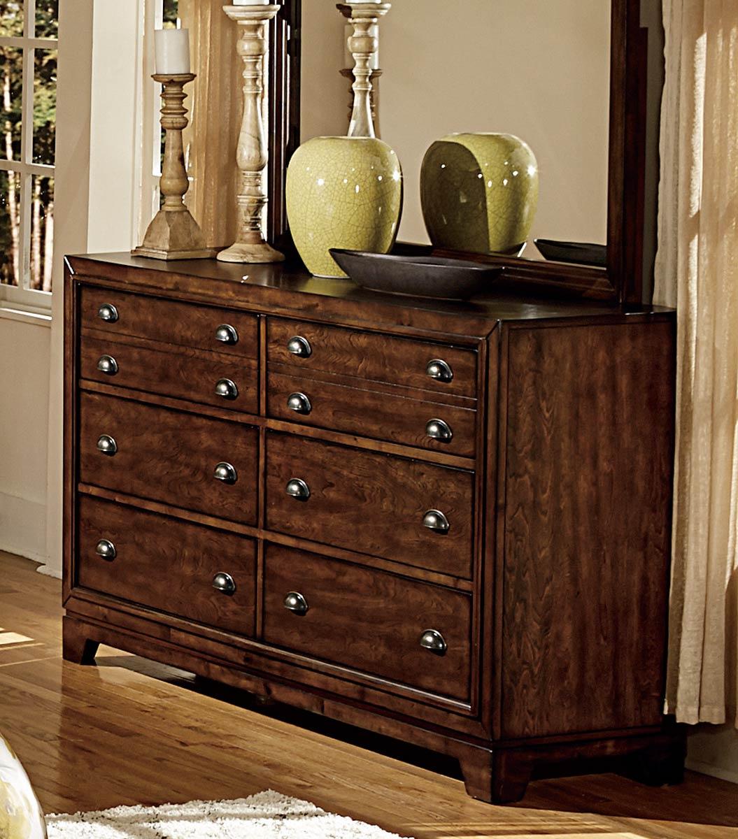 Homelegance Bernal Heights Dresser - Dark Walnut