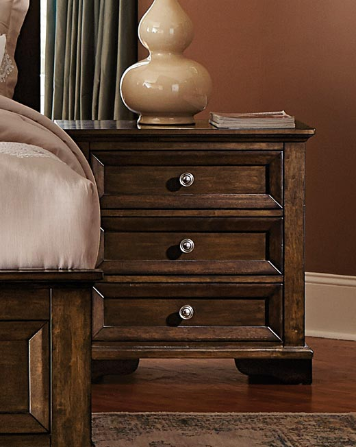 Homelegance Eunice Night Stand - Espresso
