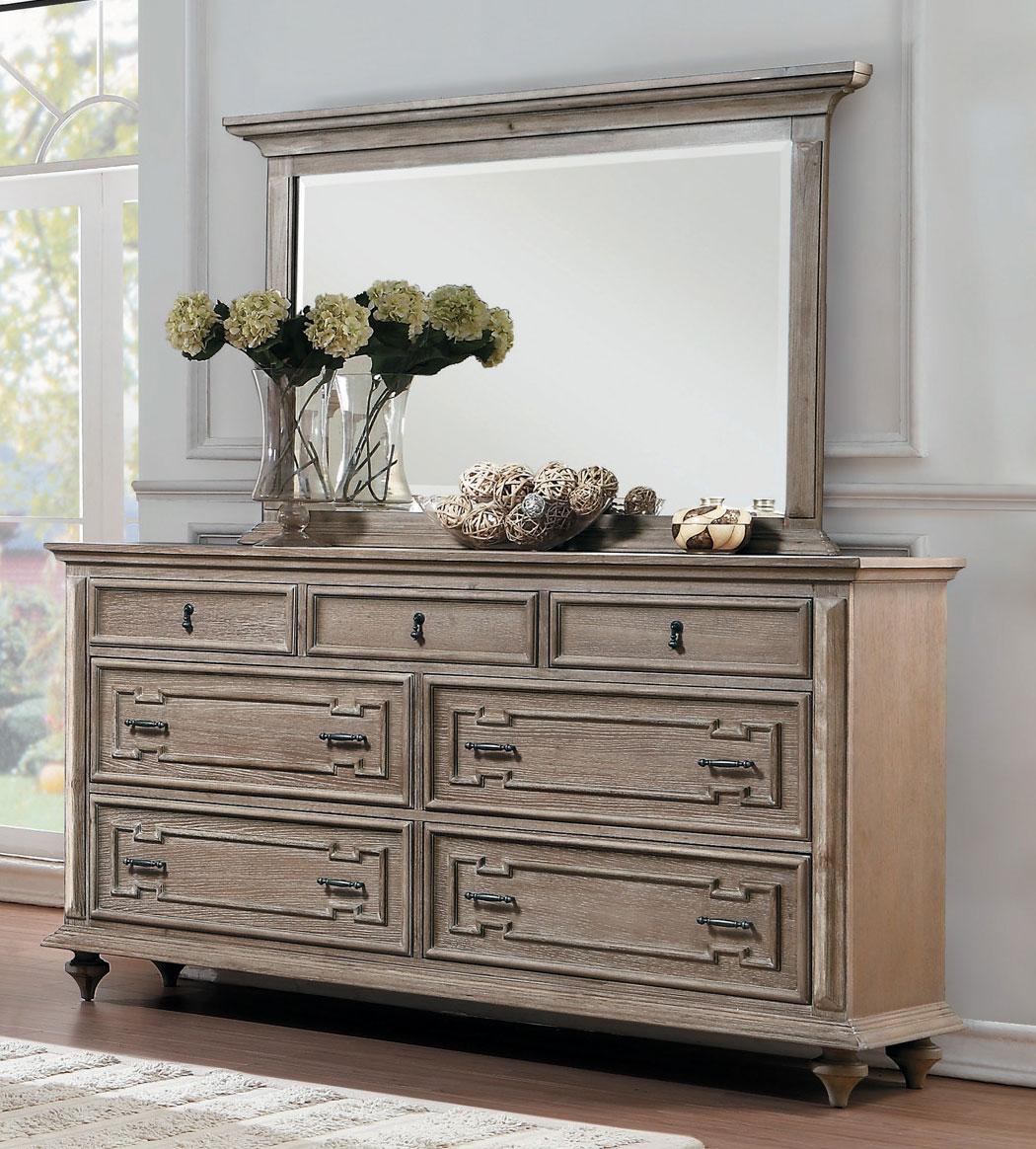 Homelegance Marceline Dresser - Weathered
