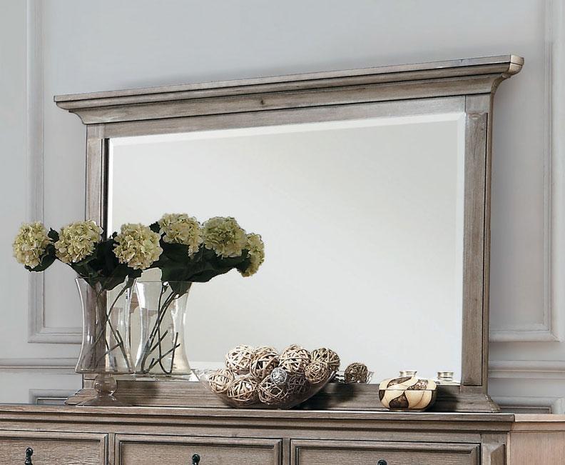 Homelegance Marceline Mirror - Weathered