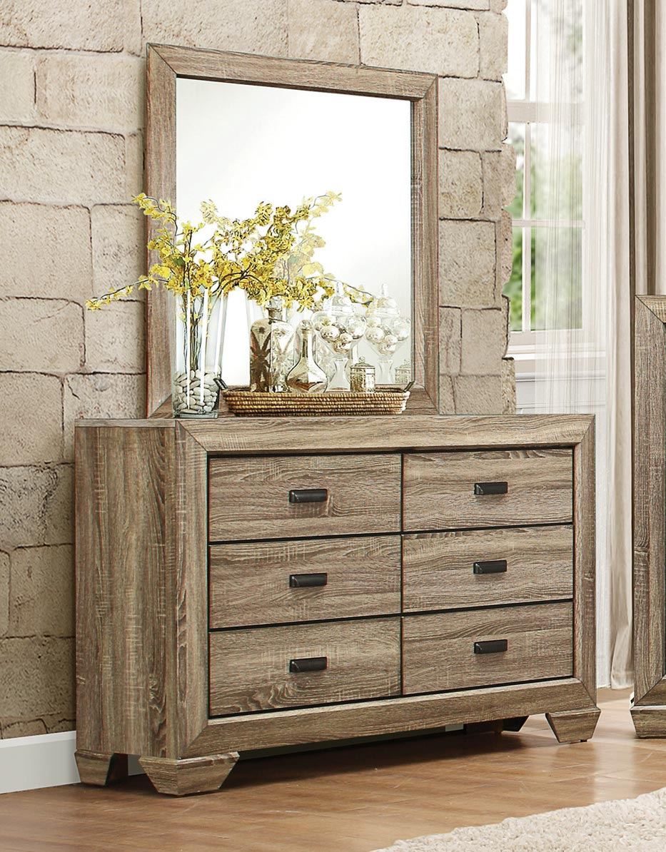 Homelegance Beechnut Dresser - Light Elm