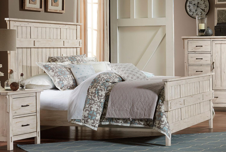 Homelegance Terrace Bed - Antique White