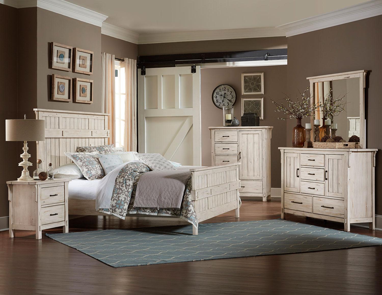 Homelegance Terrace Bedroom Set - Antique White