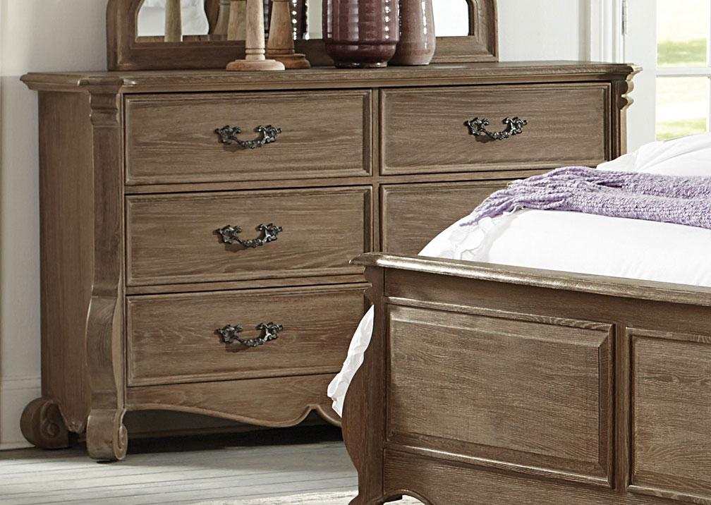 Homelegance Chrysanthe Dresser - Oak