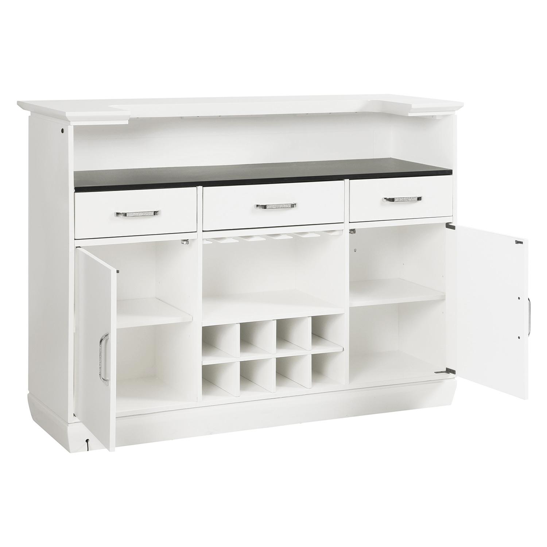 Homelegance Allura Bar - White Metallic
