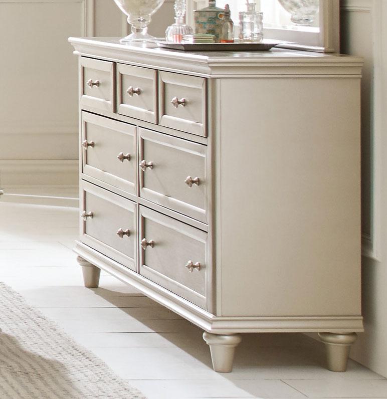 Homelegance Celandine Dresser - Silver
