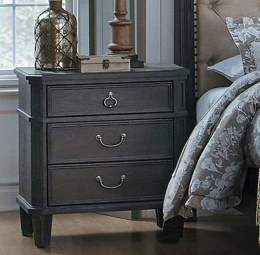 Homelegance Lindley Night Stand - Dusty Gray
