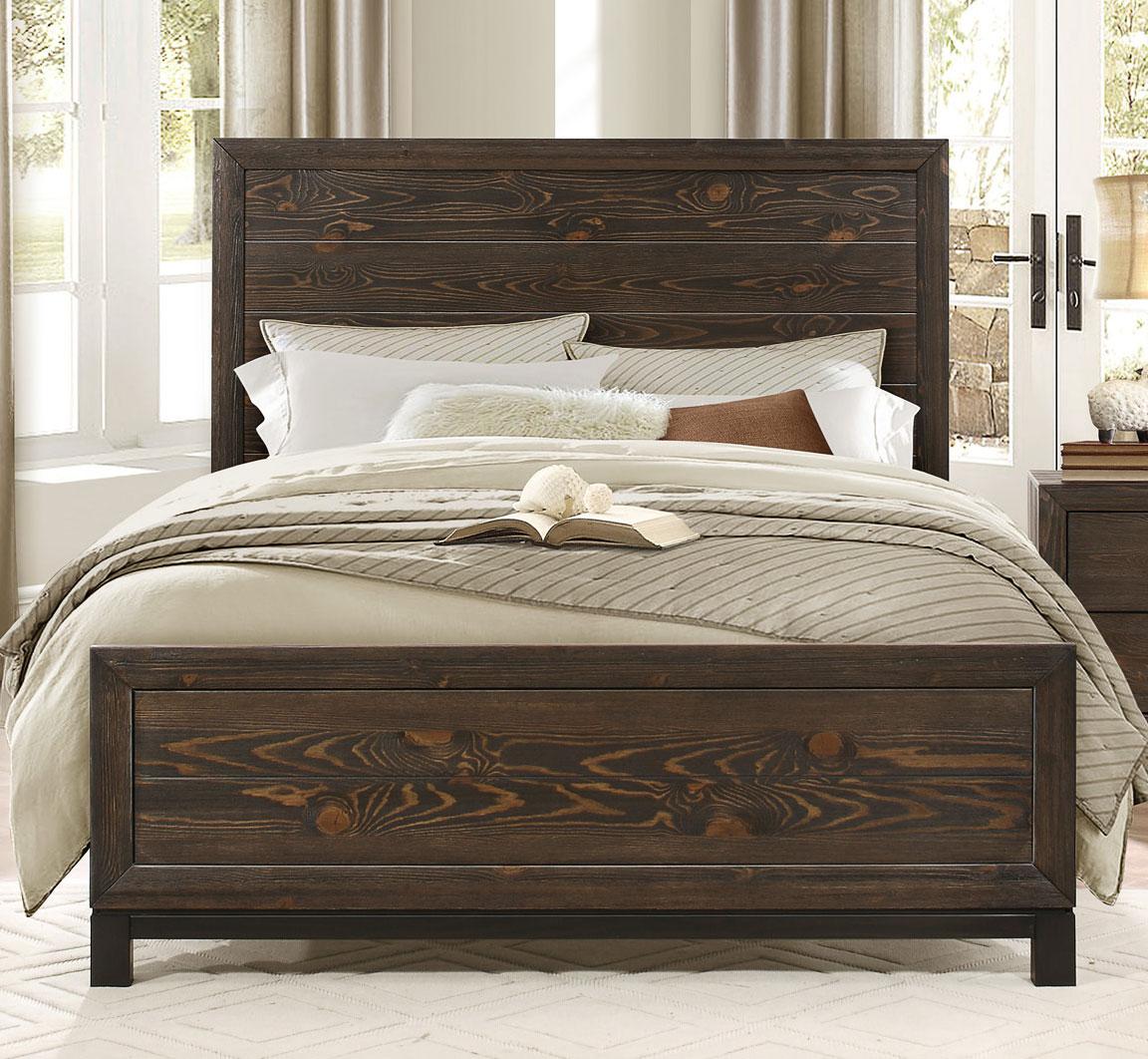 Homelegance Branton Bed - Antique Brown