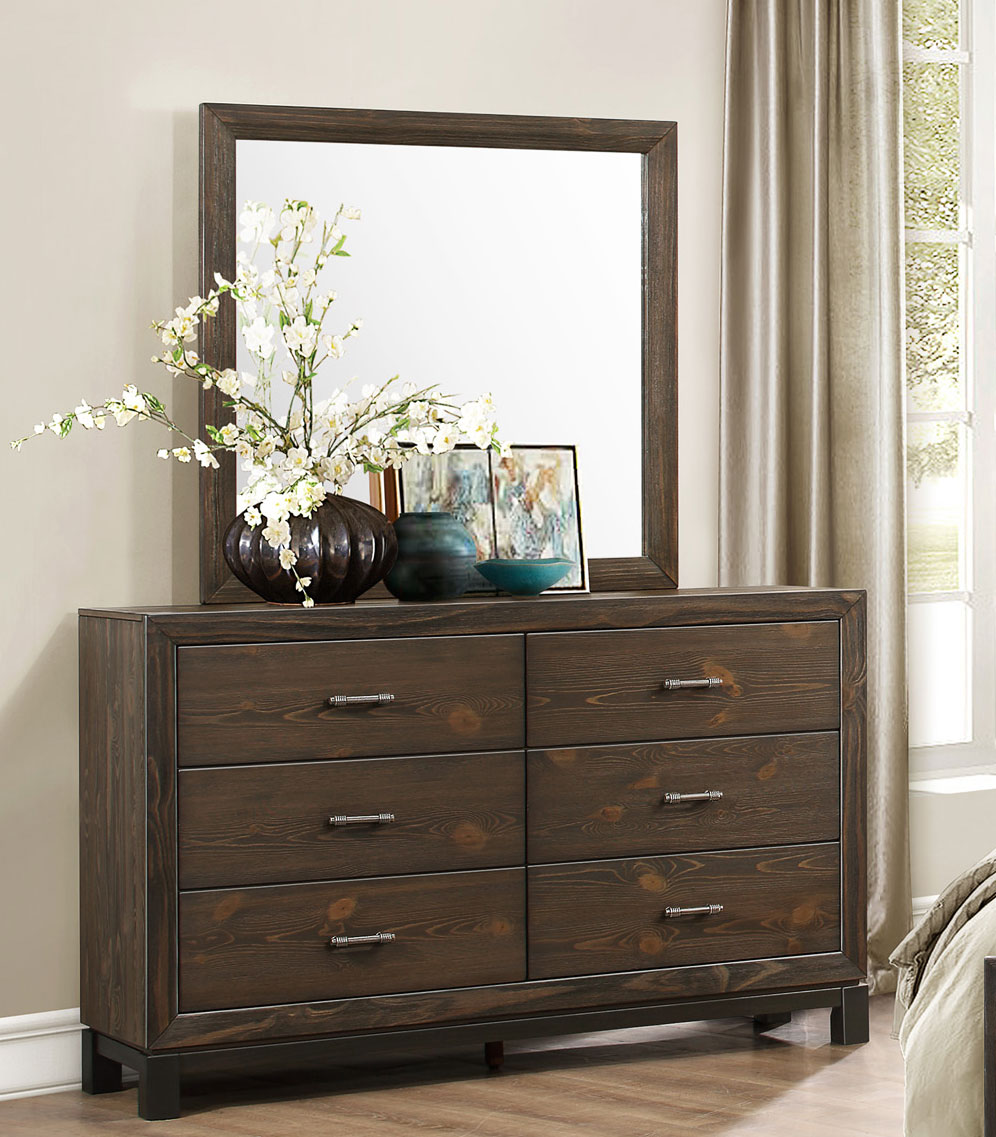 Homelegance Branton Dresser - Antique Brown