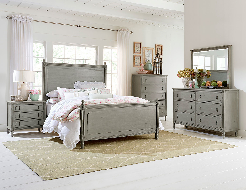 Homelegance Aviana Bedroom Set - Antique Gray