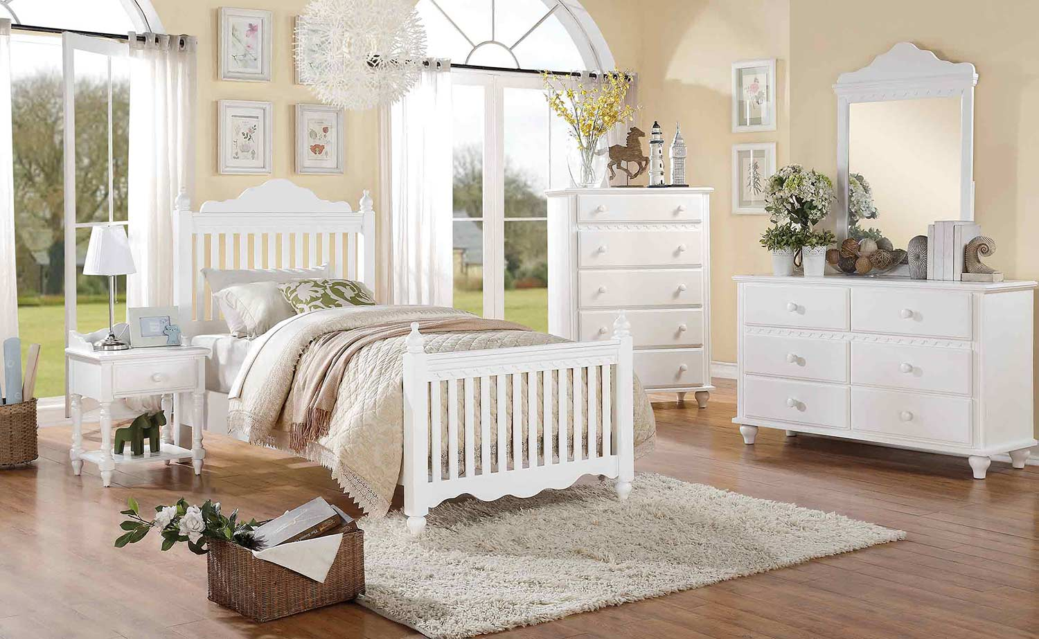 homelegance emmaline bedroom set white 2019 bedroom set