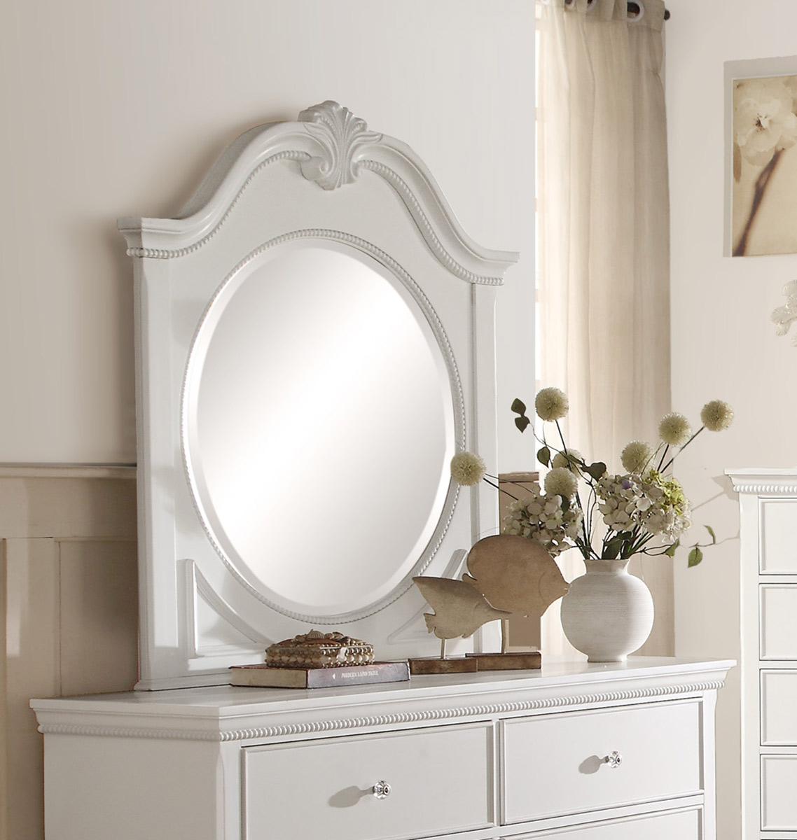 Homelegance Lucida Mirror - White