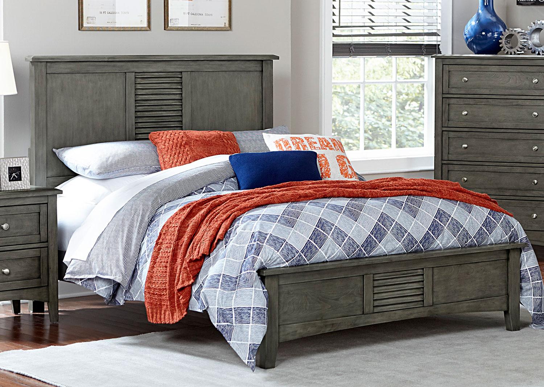 Homelegance Garcia Bed - Gray