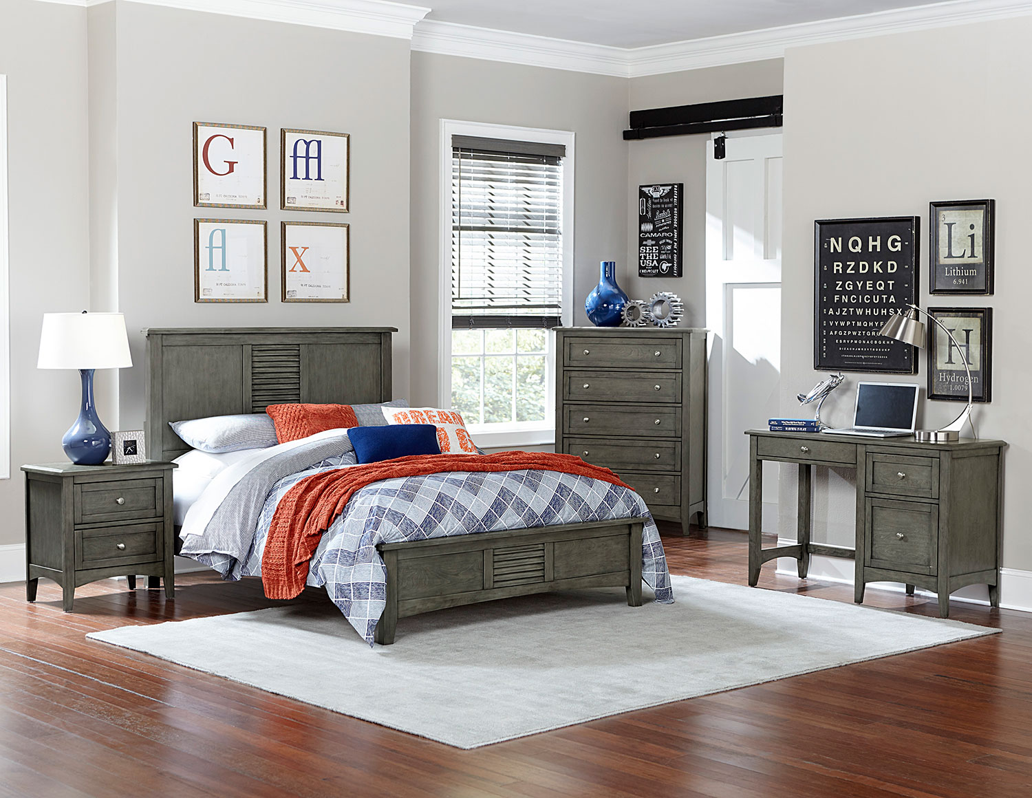 Homelegance Garcia Bedroom Set - Gray