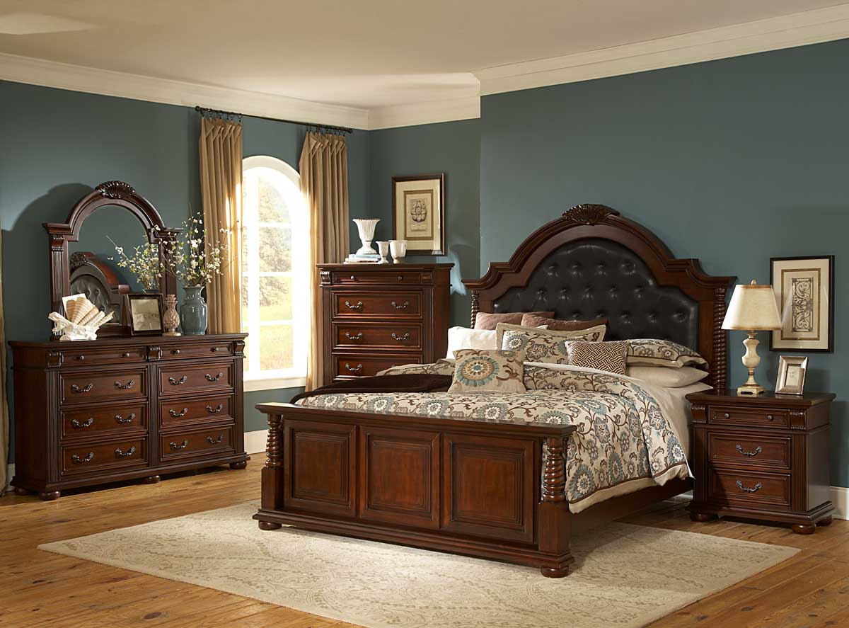 homelegance silas bedroom set b2117