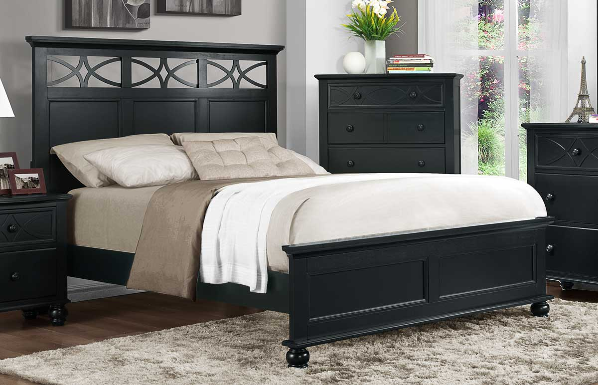 Homelegance Sanibel Bed - Black