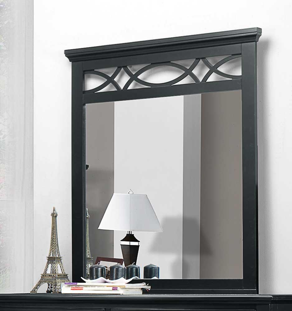 Homelegance Sanibel Mirror - Black