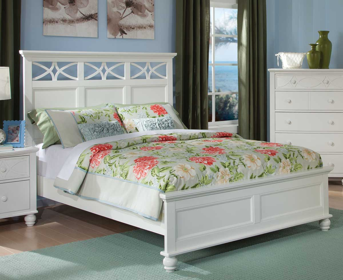 Homelegance Sanibel Bed   White. Homelegance Sanibel Bedroom Set   White B2119W Bed Set