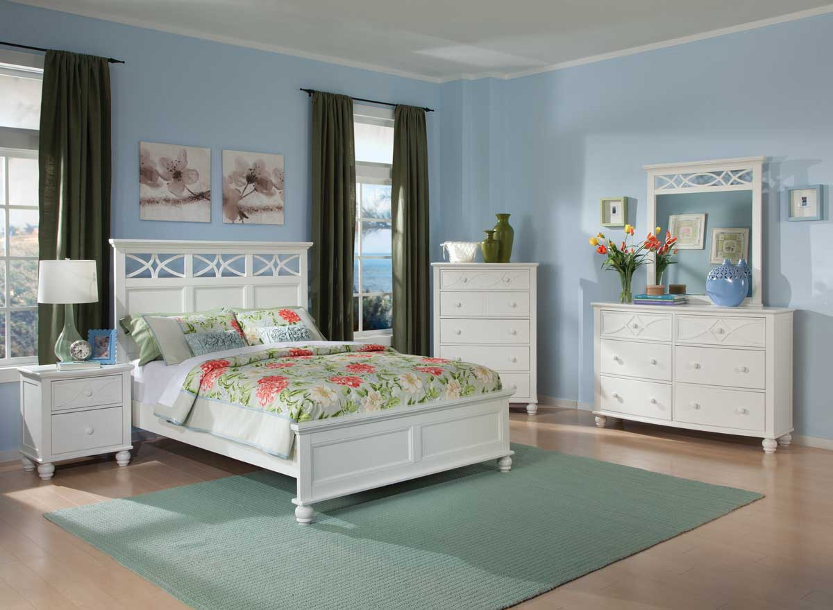 Homelegance Sanibel Bedroom Set   White. Homelegance Sanibel Bedroom Set   White B2119W Bed Set