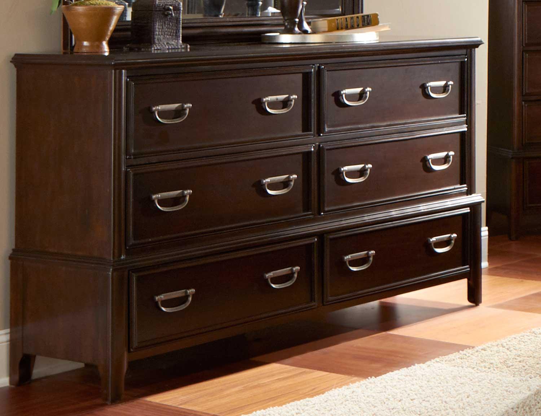 Homelegance Beaux Dresser - Dark Cherry
