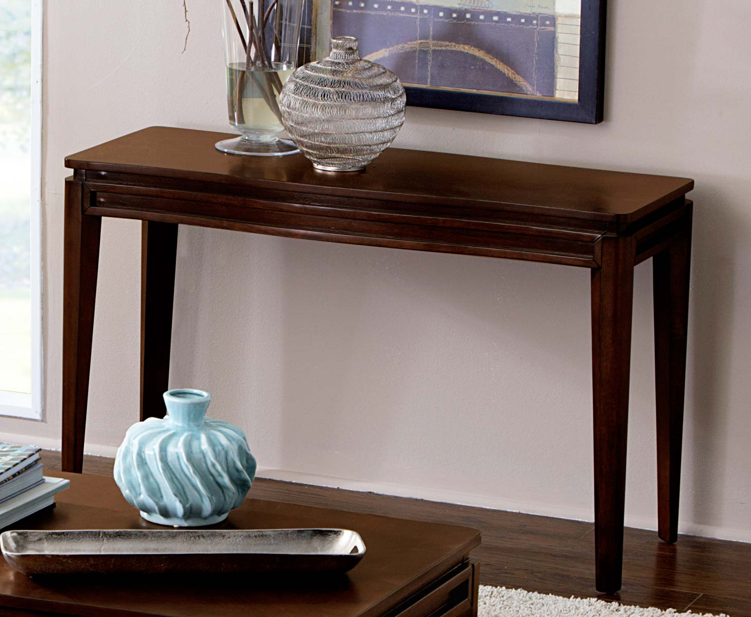 Homelegance Kasler Sofa Table - Medium Walnut