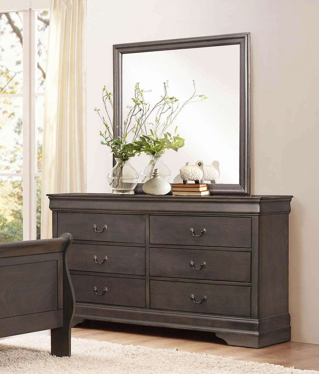 Homelegance Mayville Dresser - Stained Grey