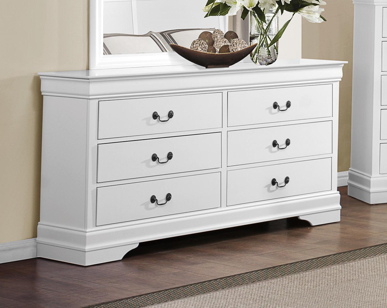 Homelegance Mayville Dresser - White