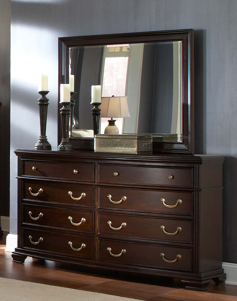 Homelegance Wrentham Dresser - Dark Brown