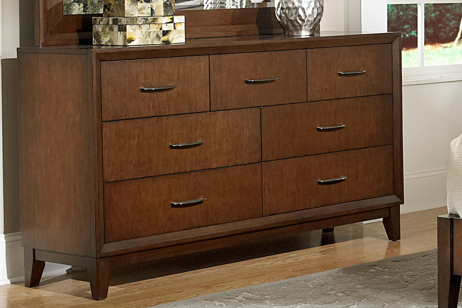 Homelegance Oliver Dresser - Warm Brown Cherry