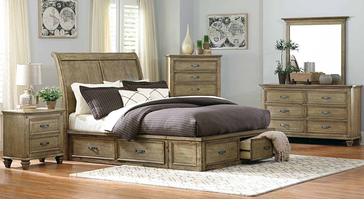 driftwood large size set full reclaimed wood of me distressed furniture near bedroom handcrafted bed platform