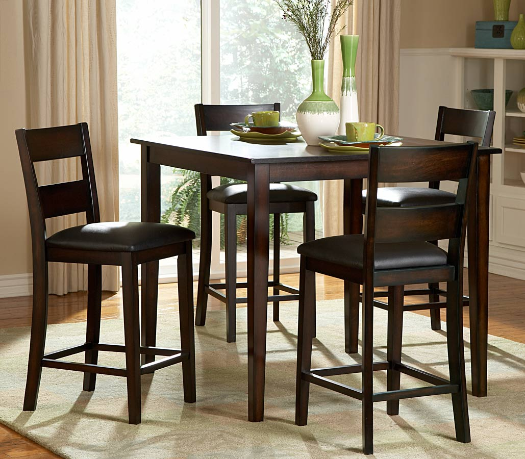 Homelegance Griffin 5 Piece Counter Height Dining Set