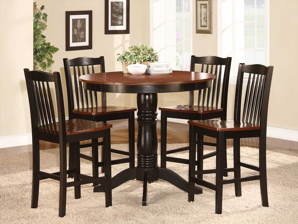 Homelegance Andover 5 Piece Counter Height Dining Set