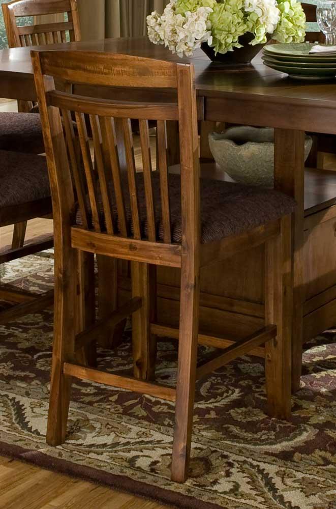 Homelegance Marcel Counter Height Chair - Warm Oak