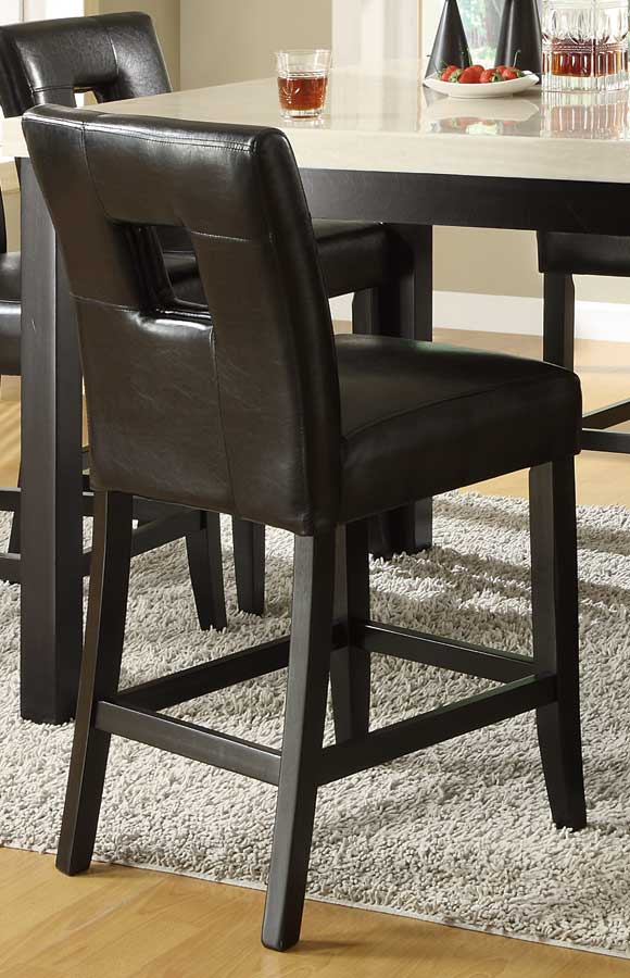 Homelegance Archstone S1 Counter Height Chair - Black