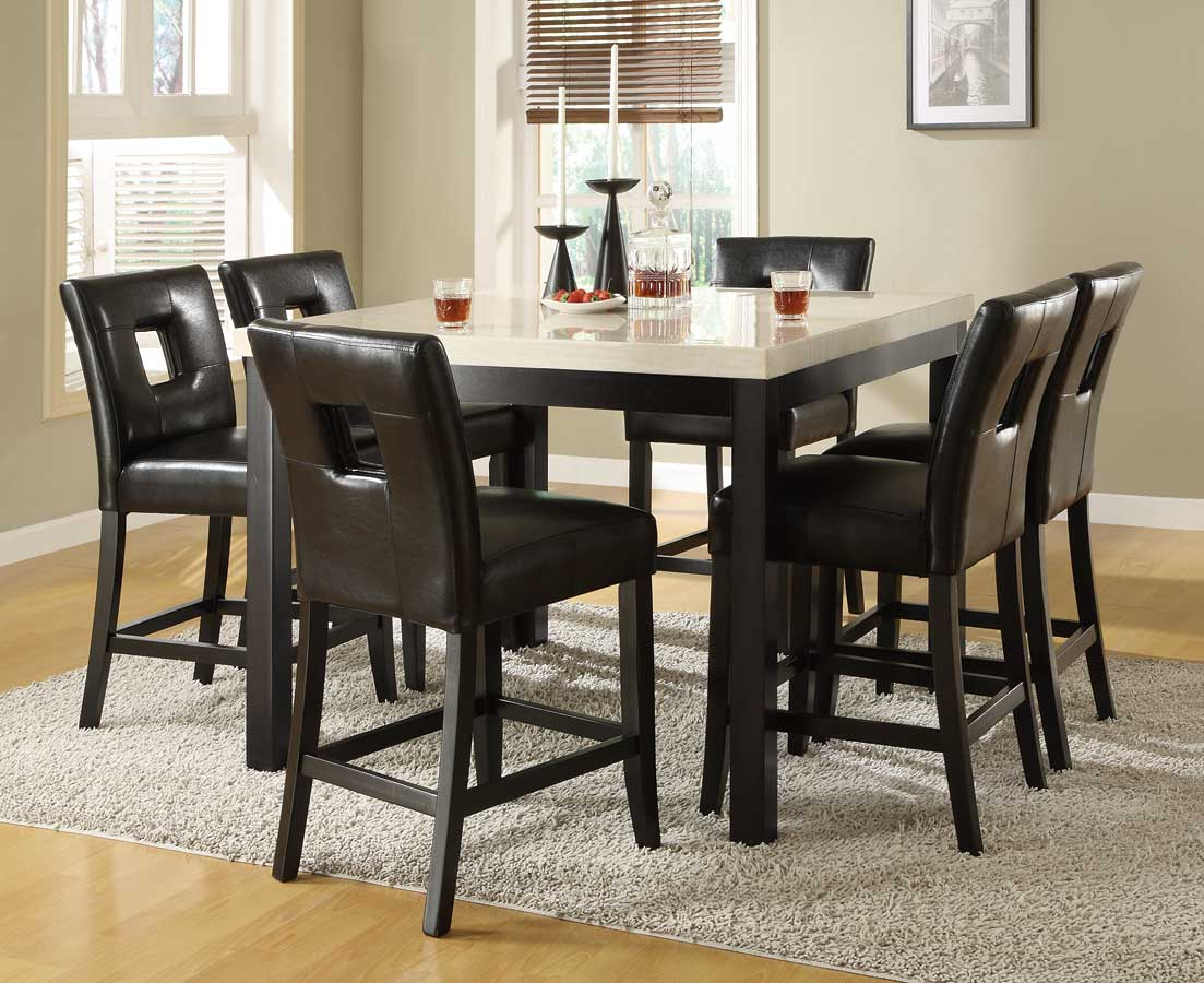 Homelegance archstone counter height dining set