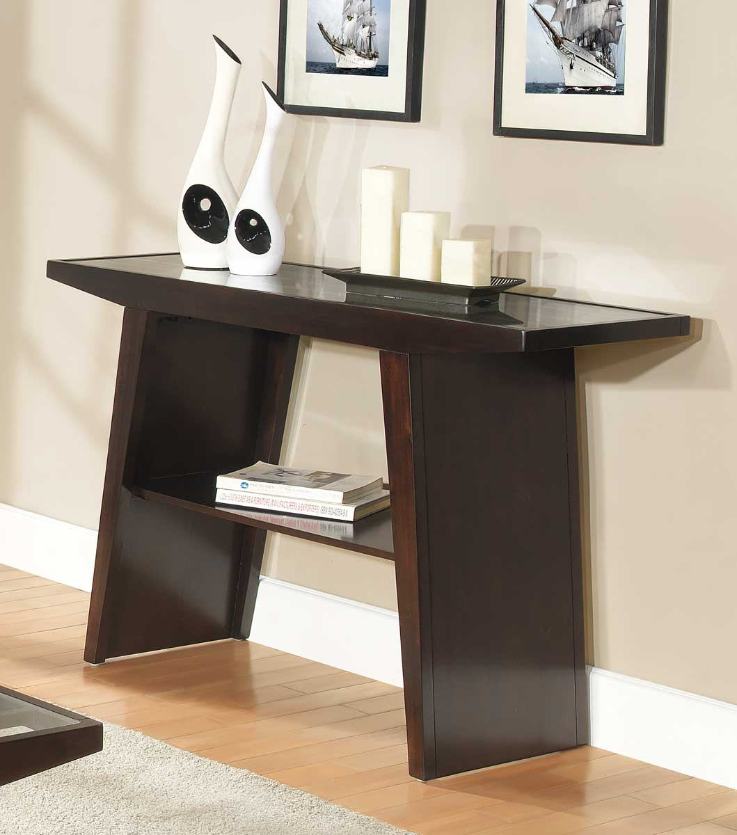 Homelegance Cullum Sofa Table   Dark Espresso