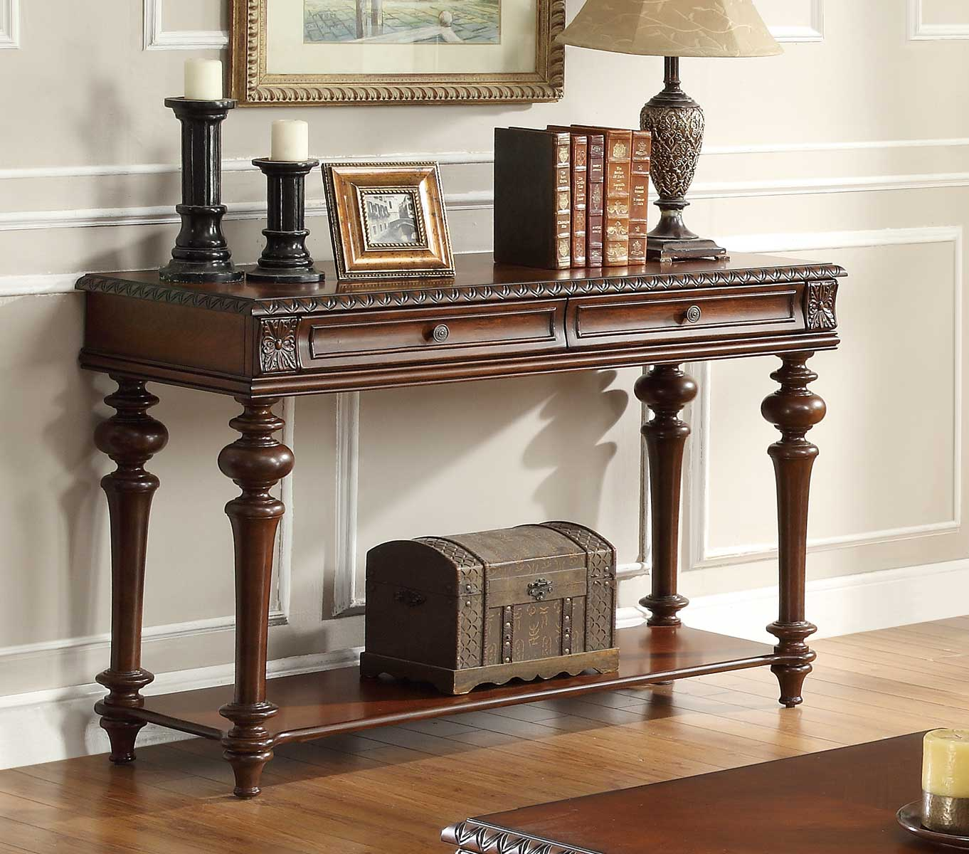 Homelegance Westfeldt  Sofa Table - Cherry
